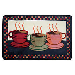Nourison 3-Foot 4-Inch x 1-Foot 10-Inch Coffee Kitchen Rug