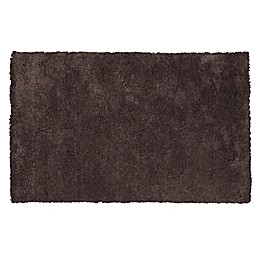 KAS Bliss Shag Area Rug in Espresso