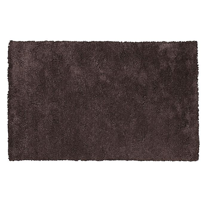 Alternate image 1 for KAS Bliss Shag Area Rug in Espresso