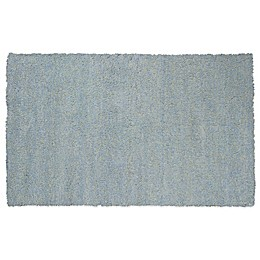 KAS Bliss Area Rug in Blue Heather
