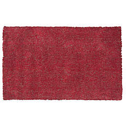 KAS Bliss Area Rug in Red Heather