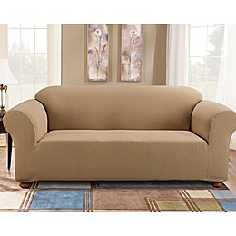 Sure Fit® Simple Stretch Subway Tile Furniture Slipcover