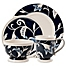 Part of the Fitz and Floyd® Bristol Indigo Floral Dinnerware Collection