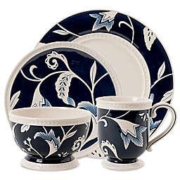 Fitz and Floyd® Bristol Indigo Floral Dinnerware Collection