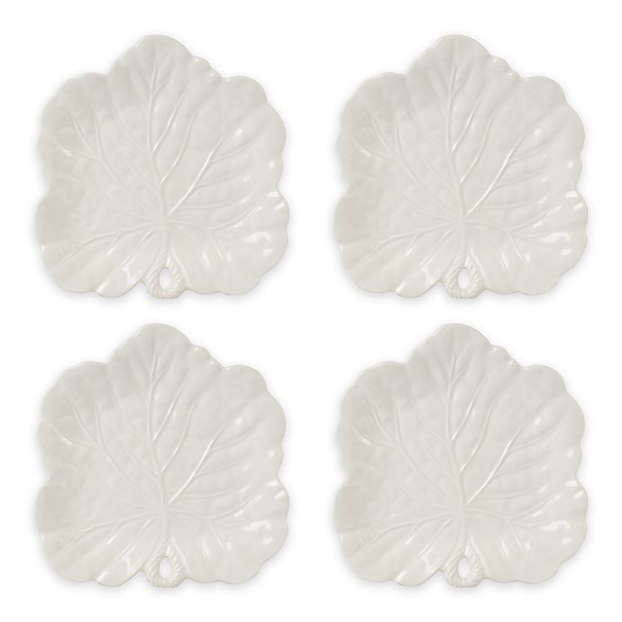 Alternate image 1 for Fitz and Floyd® Bristol Canapé Plates (Set of 4)