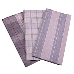 Belle Epoque La Rochelle Collection Plaid Heathered Flannel Sheet Set