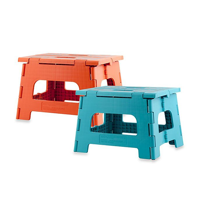 View A Larger Version Of This Product Image Click To Zoom Alternate 1 For Kikkerland Design Rhino Ii Folding Step Stool