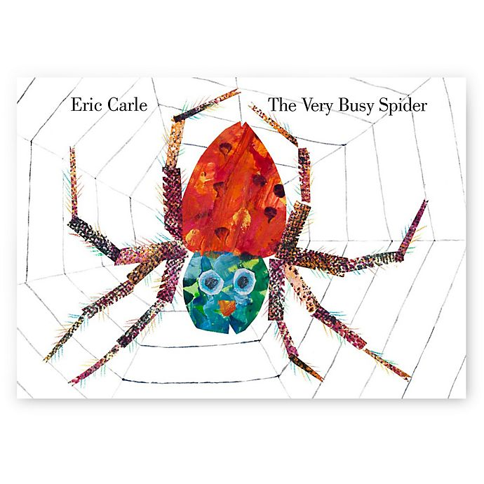 Alternate image 1 for The Very Busy Spider Book by Eric Carle