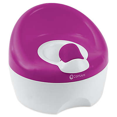 Contours® Bravo 3-in-1 Potty Trainer in Berry