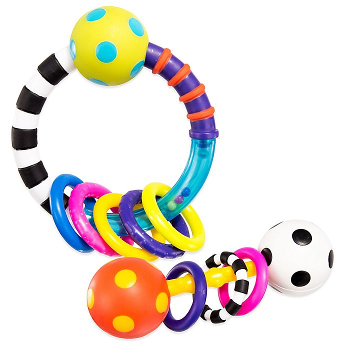 Alternate image 1 for Sassy® My First Rattles (Set of 2)