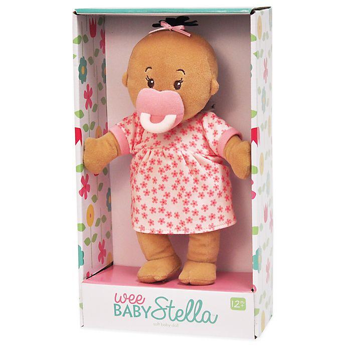 Alternate image 1 for Manhattan Toy® Wee Baby Stella Beige Doll