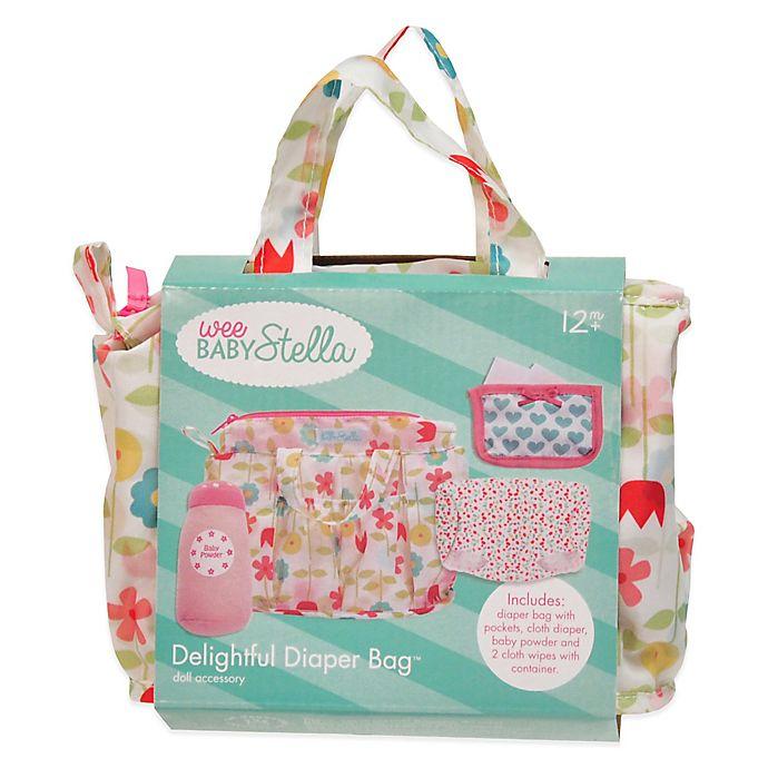 Alternate image 1 for Manhattan Toy® Wee Baby Stella Delightful Diaper Bag