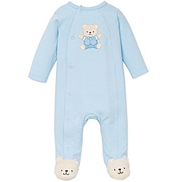 Little Me® Cute Bear Footie in Blue