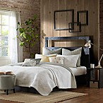 INK+IVY Pacific Reversible King Coverlet Set in Taupe