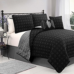Hayden 5-Piece Reversible Quilt Set