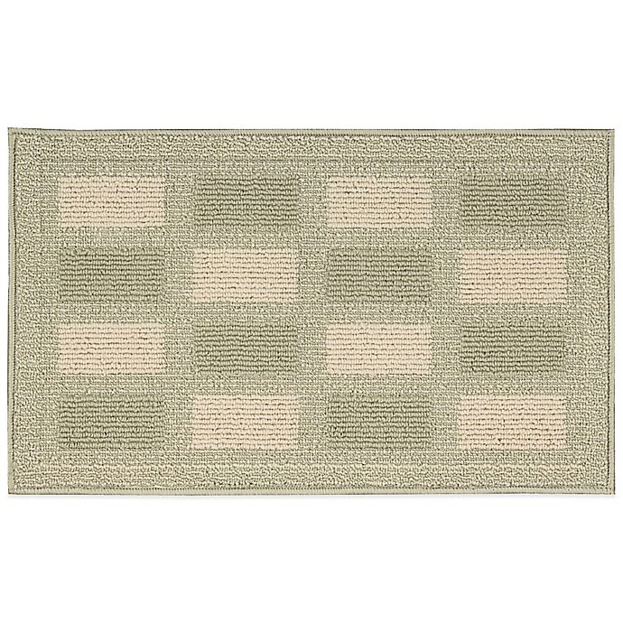 Buy Nourison Grid 2-Foot 6-Inch X 4-Foot Kitchen Rug In