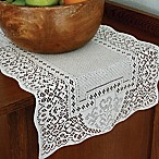 Heritage Lace® Canterbury Classic 36-Inch Table Runner in White