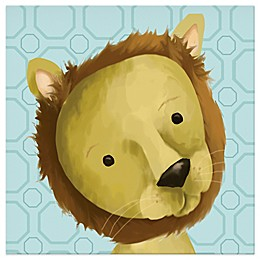 Oopsy Daisy Rauri the Lion Canvas Wall Art