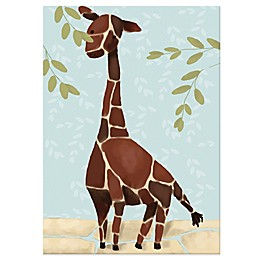 Oopsy Daisy Gillespie the Giraffe Canvas Wall Art