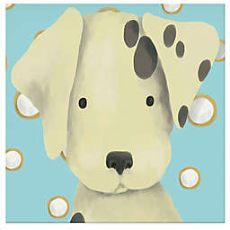 Oopsy Daisy Radley the Dalmation Canvas Wall Art in Blue