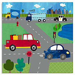 Oopsy Daisy Too Busy Roads Canvas Wall Art