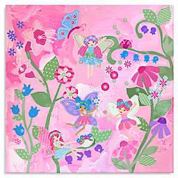 Oopsy Daisy Too Flower Fairies Canvas Wall Art