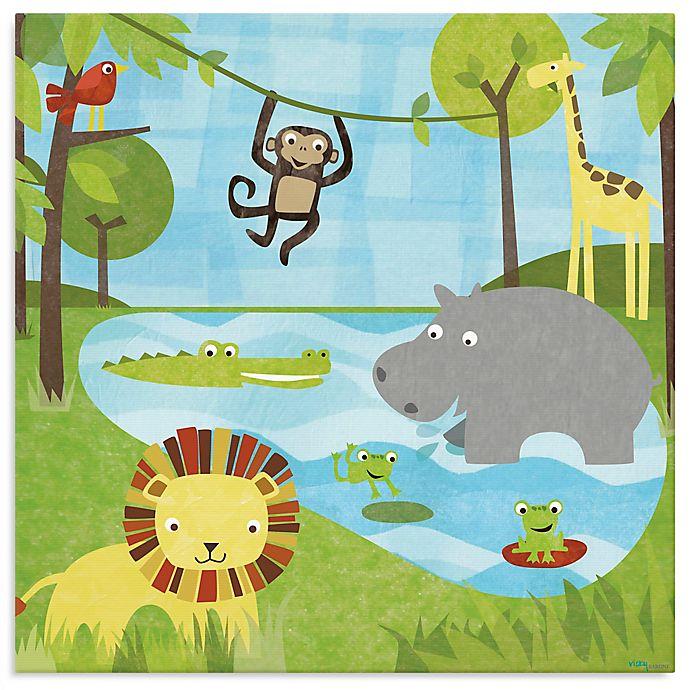 Alternate image 1 for Oopsy Daisy Too Safari Canvas Wall Art