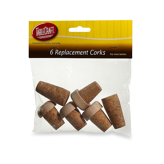 Alternate image 1 for 6-Pack Replacement Corks