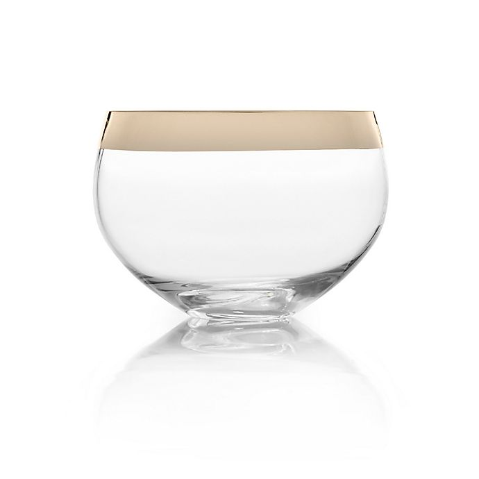 Alternate image 1 for Mikasa® Serenity Gold 9-Inch Bowl