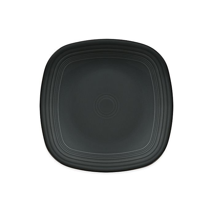 Alternate image 1 for Fiesta® Square Dinner Plate in Slate
