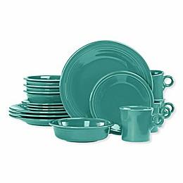 Fiesta® 16-Piece Dinnerware Set in Turquoise