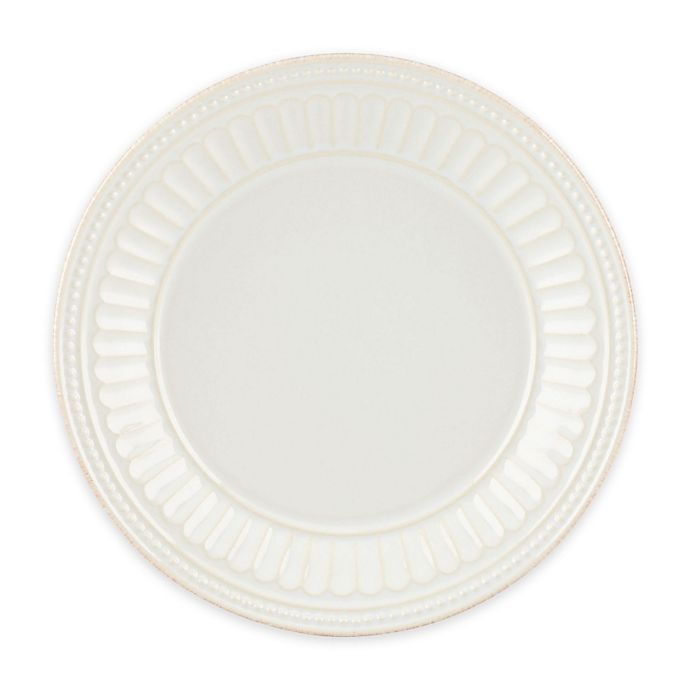 Alternate image 1 for Lenox® French Perle™ Groove Plate in White