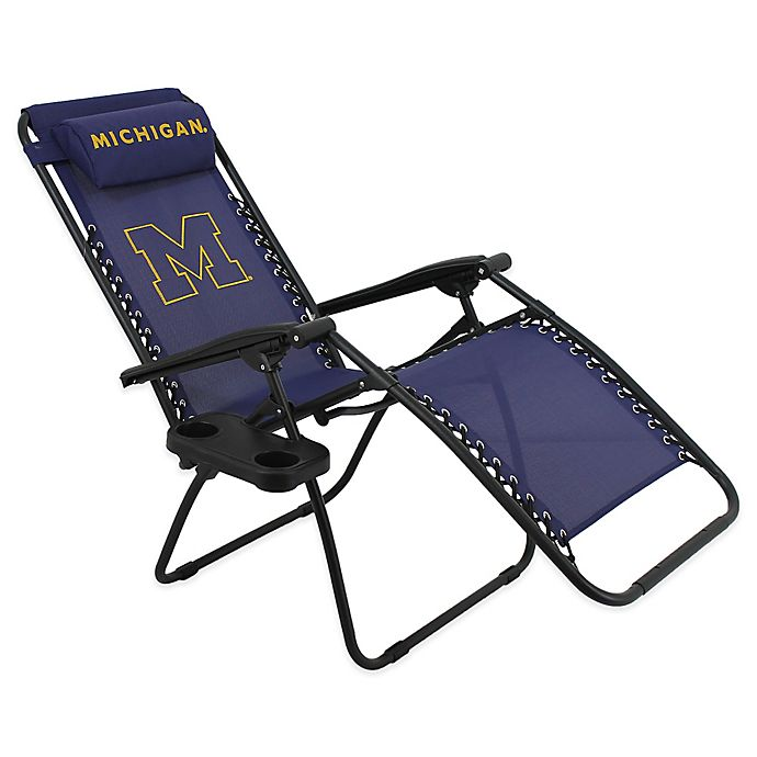 Swell University Of Michigan Zero Gravity Chair Bed Bath Beyond Ocoug Best Dining Table And Chair Ideas Images Ocougorg