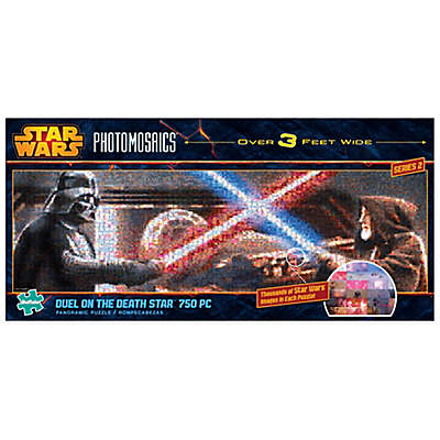 Star Wars™ Panoramic Photomosaics 750-Piece Duel on the Death Star™ Jigsaw Puzzle