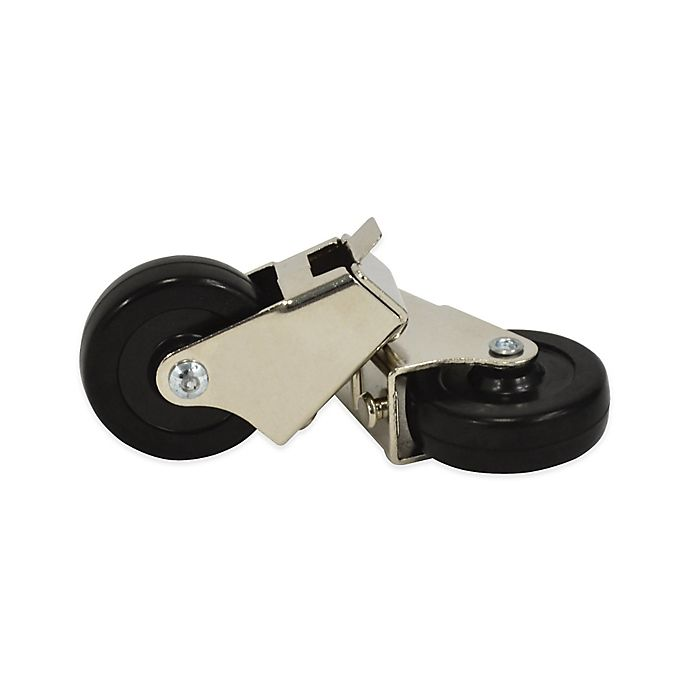 Alternate image 1 for Rhino Trunk and Case™ Removable Wheels (Set of 2)