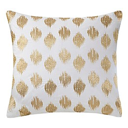 INK+IVY Nadia Dot Embroidered Square Throw Pillow
