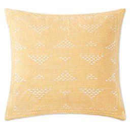 INK+IVY Cairo Embroidered Square Throw Pillow