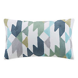 INK+ IVY Konya Embroidered Oblong Throw Pillow