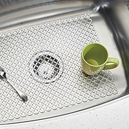 Interdesign® Stari 25-Inch x 12-Inch Farmhouse Kitchen Sink Mat