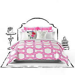 kate spade new york Bow Tile Duvet Cover Set
