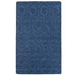 Kaleen Imprints Modern Rug in Blue/Brown/Grey