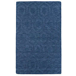 Kaleen Imprints Modern Rug in Blue/Brown/Grey