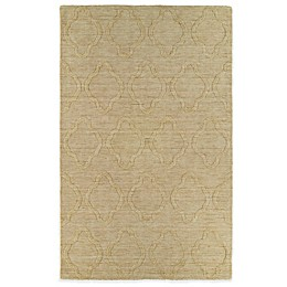 Kaleen Imprints Modern Rug in Yellow/Brown/Beige