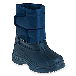 Josmo Shoes Rugged Bear Snow Boot in Navy/Black