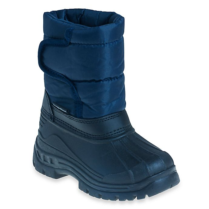 Alternate image 1 for Josmo Shoes Size 5 Rugged Bear Snow Boot in Navy/Black