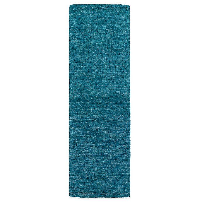 Alternate image 1 for Kaleen Imprints Modern 2-Foot 6-Inch x 8-Foot Rug in Blue