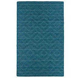 Kaleen Imprints Modern Rug in Brown/Blue/Beige