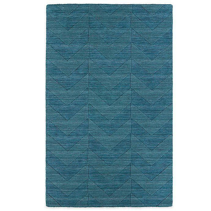 Alternate image 1 for Kaleen Imprints Modern 2-Foot x 3-Foot Rug in Blue