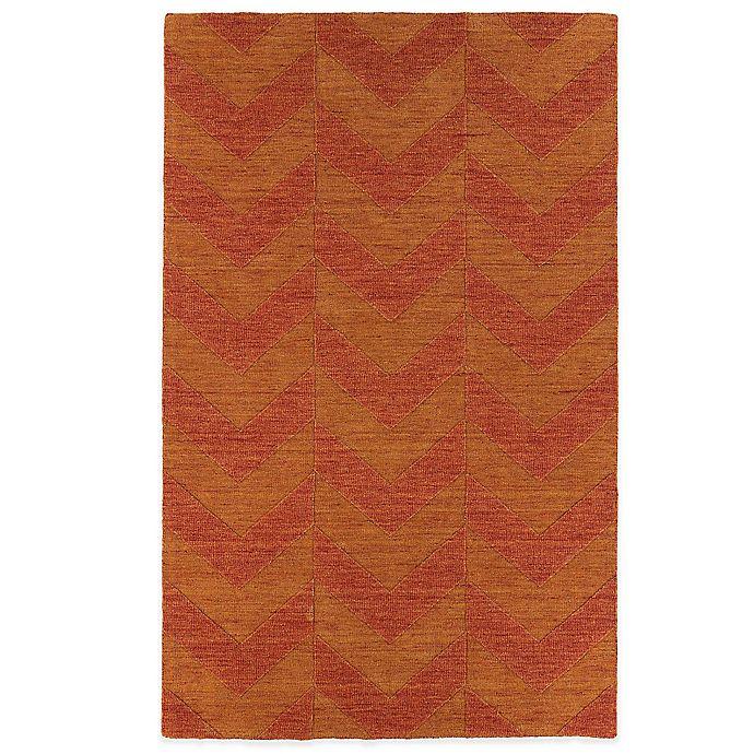 Alternate image 1 for Kaleen Imprints Modern 8-Foot x 11-Foot Rug in Red