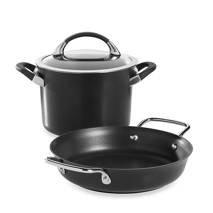 Alternate image 1 for Circulon® Symmetry 3-Piece Cookware Set in Black